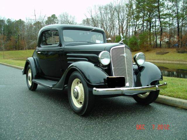1935 Chevrolet Standard Coupe | Auto Museum Online