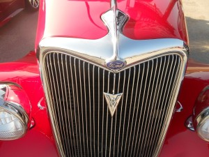 antique ford grille