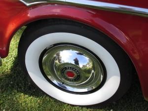 Classic Packard hubcap