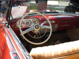 1952 Packard Patrician convertible dashboard