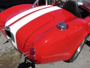 Shelby Cobra rear