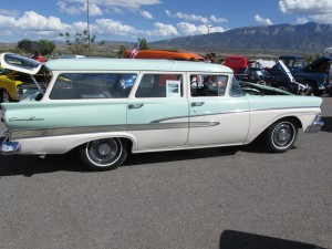1958 Ford Country Sedan Station Wagon