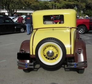 1931 Model A rear