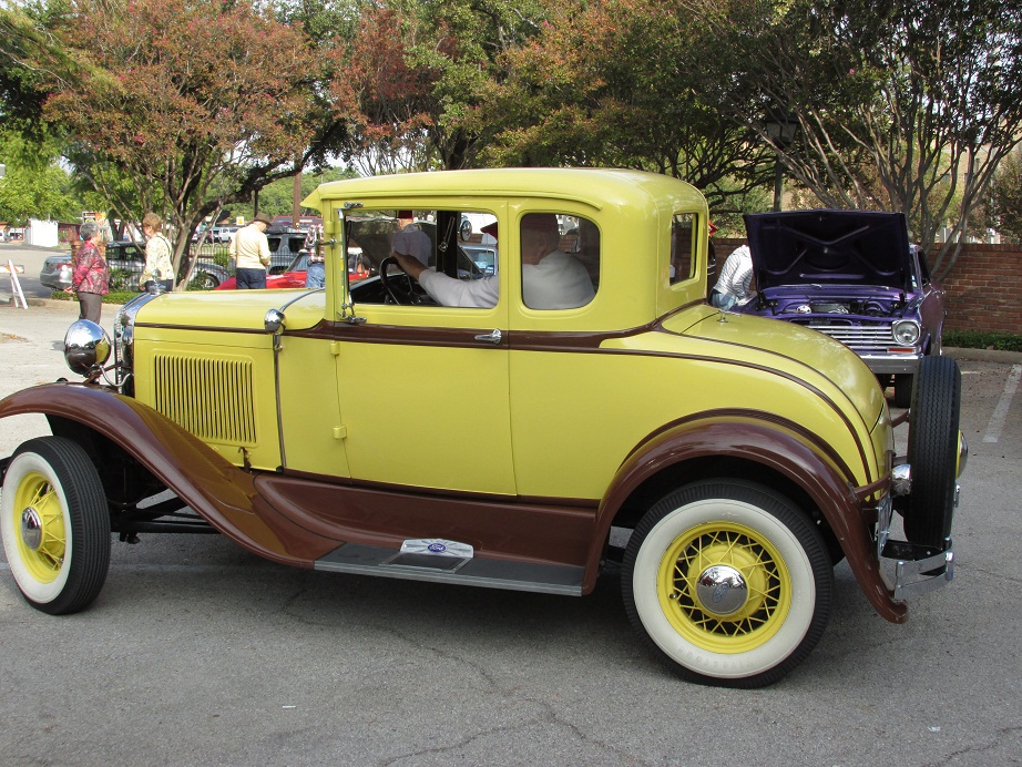 a great looking 1931 ford model a coupe auto museum online. Black Bedroom Furniture Sets. Home Design Ideas