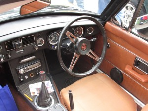 1974 BGT right hand steering wheel