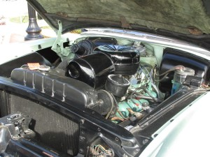 Engine on this 1954 Buick Skylark
