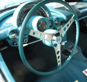 1960 Chevy Corvette dashboard