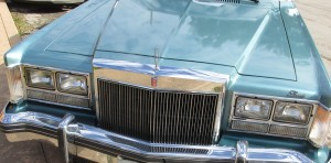 1979 Lincoln Versailles grille and dual headlights