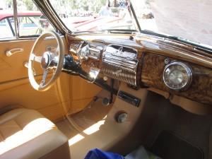 1948 Pontiac torpedo interior