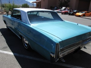 1966 pontiac grand prix rear