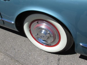 1954 chevy corvette hubcaps