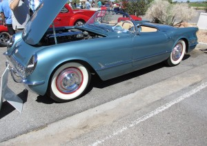original 1954 chevy corvette