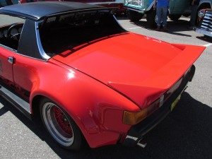 targa top on Porsche 914