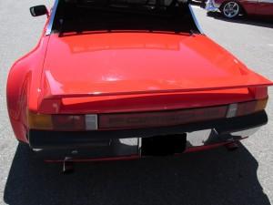 porsche 914 rear