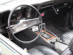 1969 chevy camaro dash