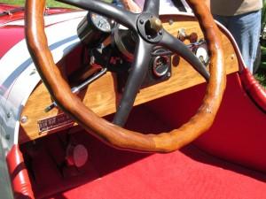 model t racer cockpit