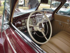 interior 1940 dodge coupe