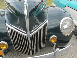 1939 ford deluxe convertible grille