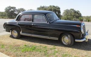 1959 mercedes 220S