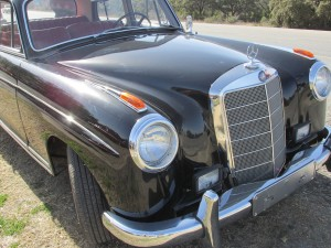 1959 mercedes grille