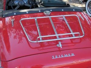 triumph tr 3 luggage rack