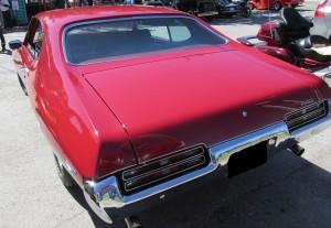 1969 gto rear
