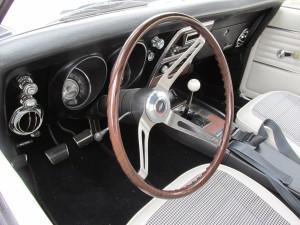 1968 camaro interior