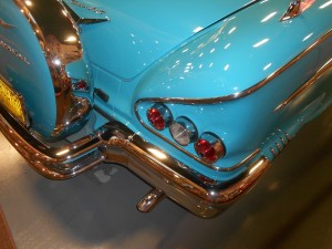 1958 chevy impala tail fins