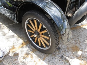 model t wood wheels