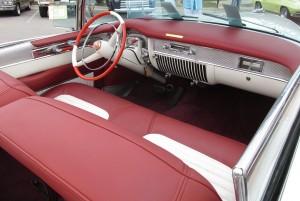 1953 cadillac eldorado interior