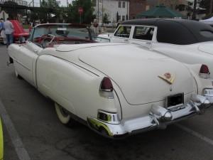 1953 cadillac eldorado convertible styling
