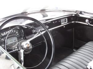 1951 cadillac limousine interior