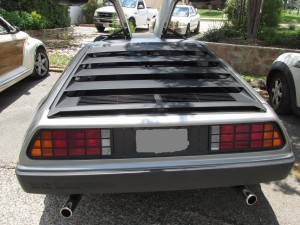 delorean dmc 12 sports car