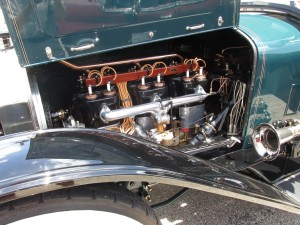 locomobile t-head six cylinder engine