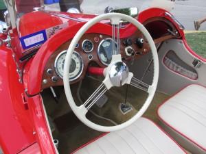 singer roadster dashboard