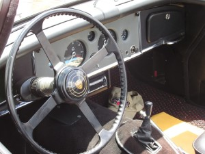 jaguar xk 150 interior photo