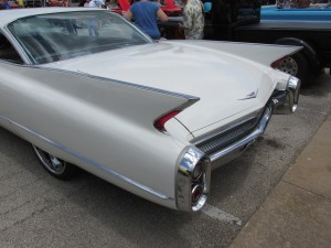 1960 cadillac tail fins
