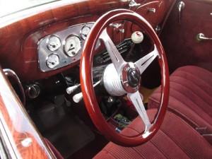 ford model 40 interior