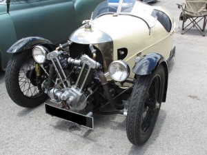 morgan aero super sports three wheeler