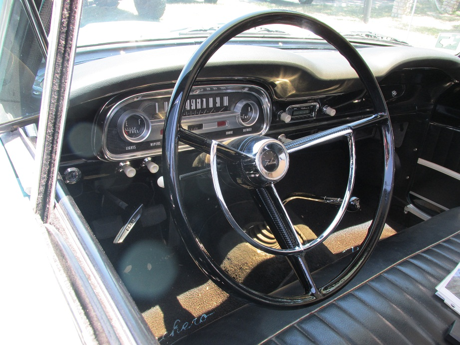 falcon ranchero dashboard interior