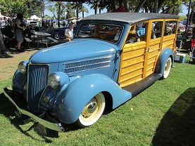 1936 ford woody