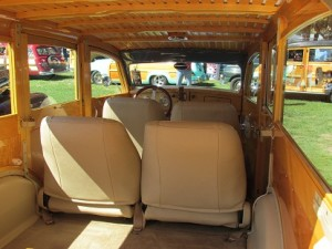ford woody wagon interior