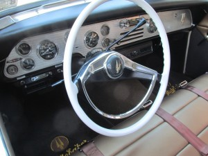 studebaker golden hawk interior