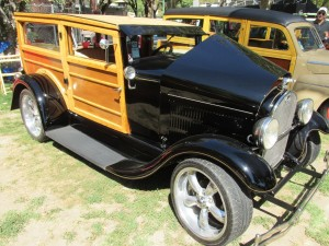 1929 phantom woodie