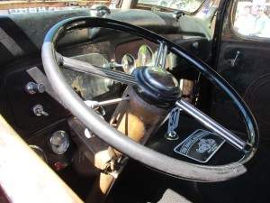 1937 GMC dashboard