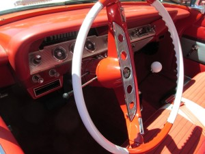 61 chevy impala dashboard