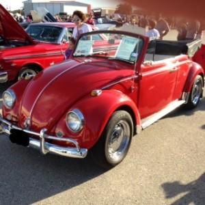 1967 volkswagen beetle type 1