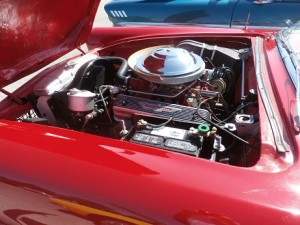 1955 ford thunderbird engine