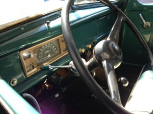 1946 ford half ton dashboard