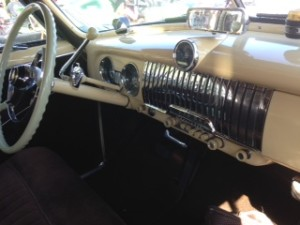 1952 chevy deluxe dashboard